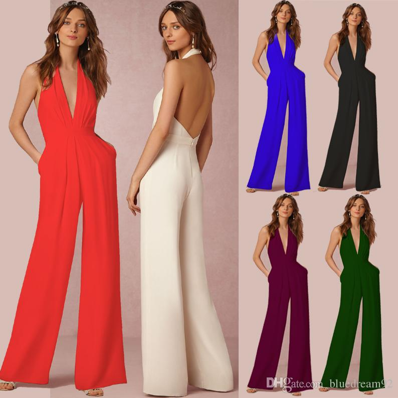 Jumpsuits for women 2018 plus size jumpsuits for women spring and autumn casual jumpsuit women  one TPVAOEM