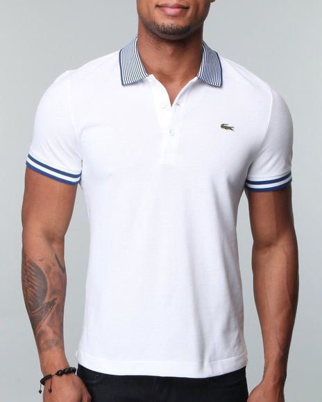 LACOSTE MENS SHIRTS- with typical characteristics of the brand that excite