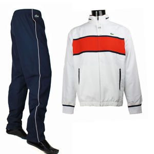 Lacoste Tracksuits image is loading lacoste-men-039-s-tennis-colorblock-tracksuit-m-l- BHFVRWM