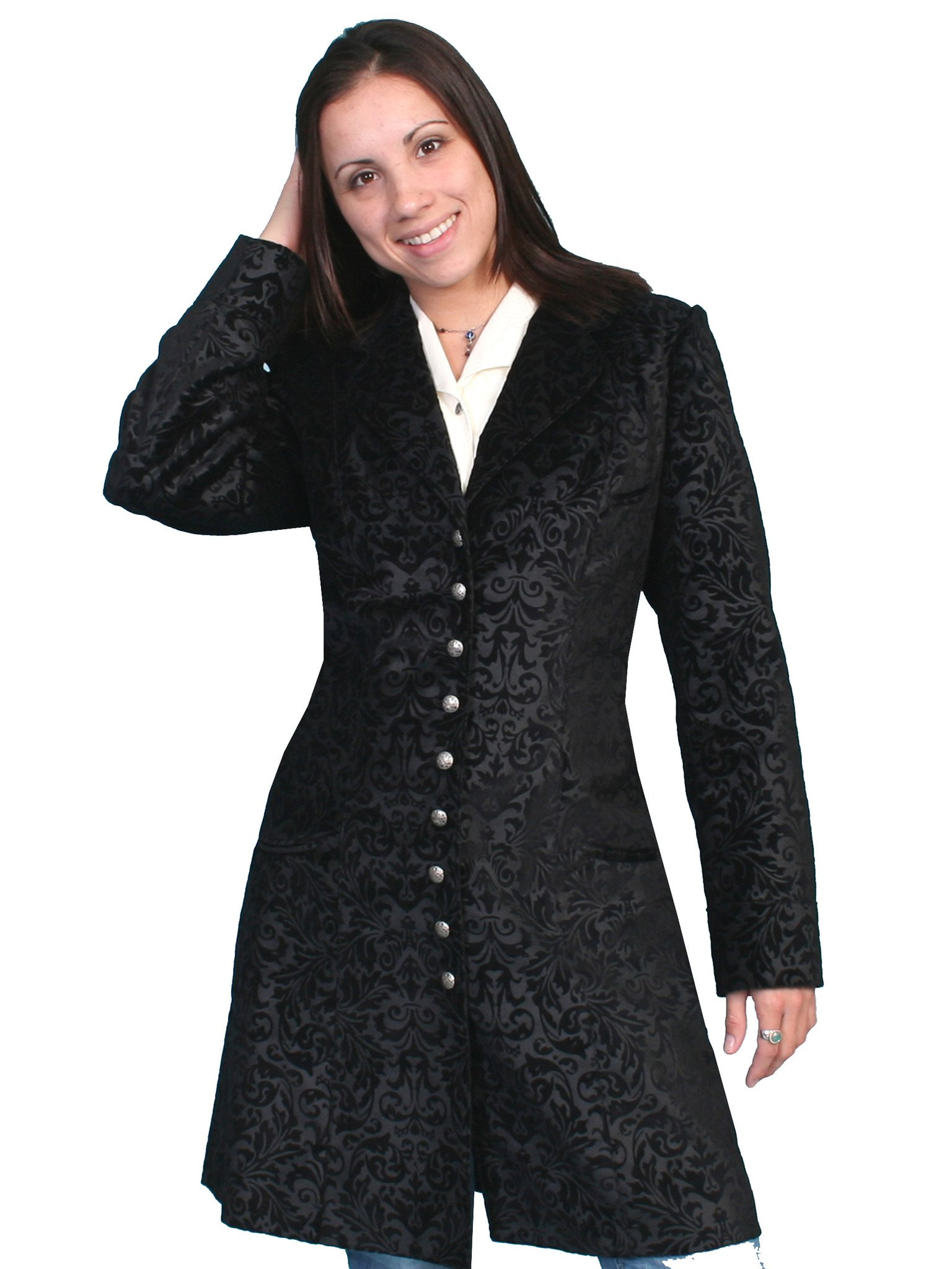 Ladies frock coat – a classic of the fashion world
