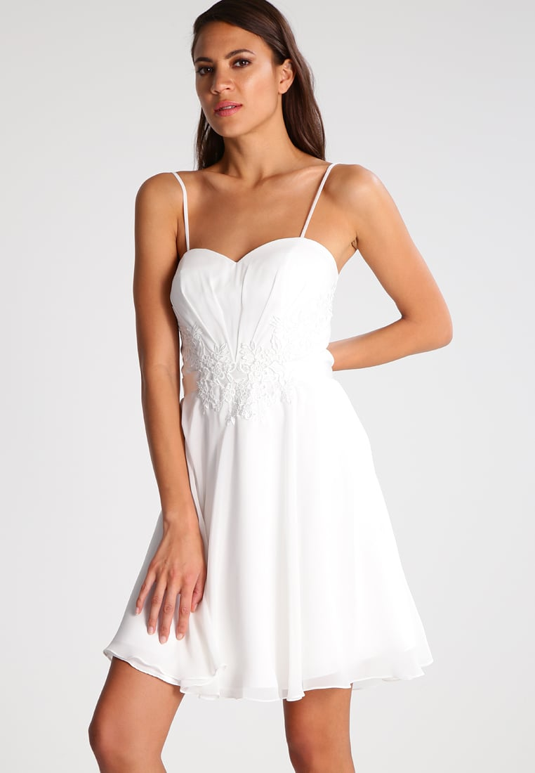 LAONA EVENING DRESSES laona cocktail dress / party - cream white women clothing dresses amazing  selection NODNKYJ
