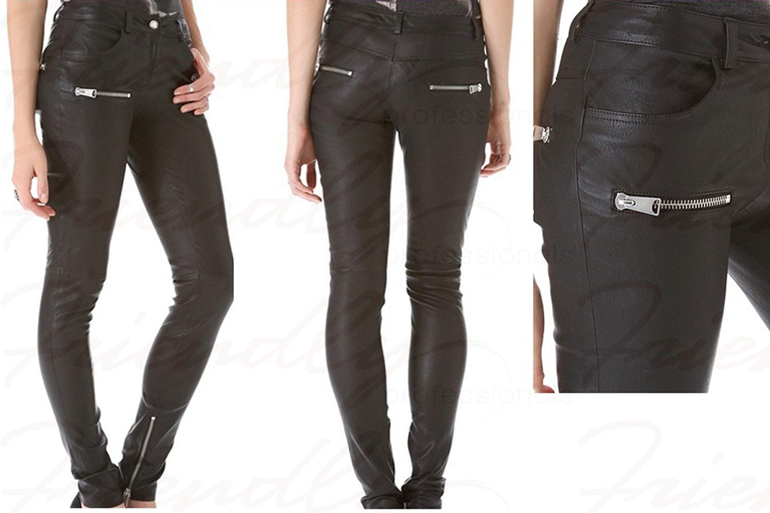Leather pants for women amazon.com : leather pants for women girls teens genuine leather pants hot  design RHYZFTV