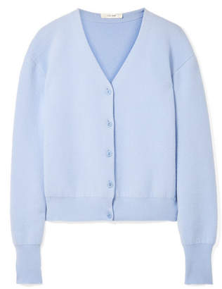Light Blue Cardigans ... the row nesta merino wool and cashmere-blend cardigan - blue EZFUPGZ