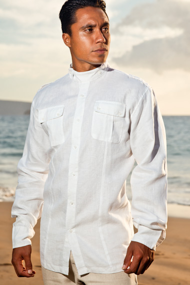 linen shirt mens linen safari shirt QRYOODN