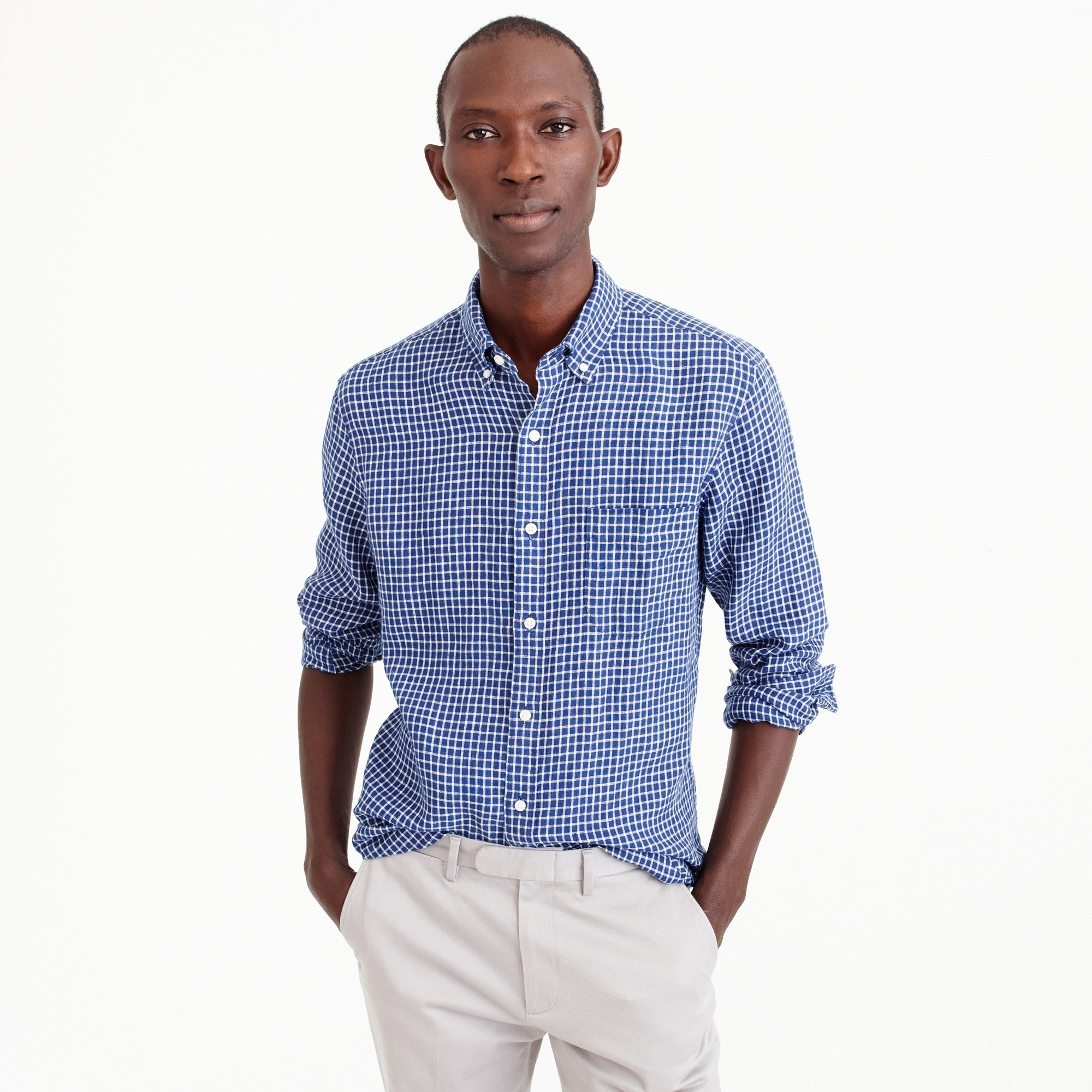 Style guide – linen shirt mens