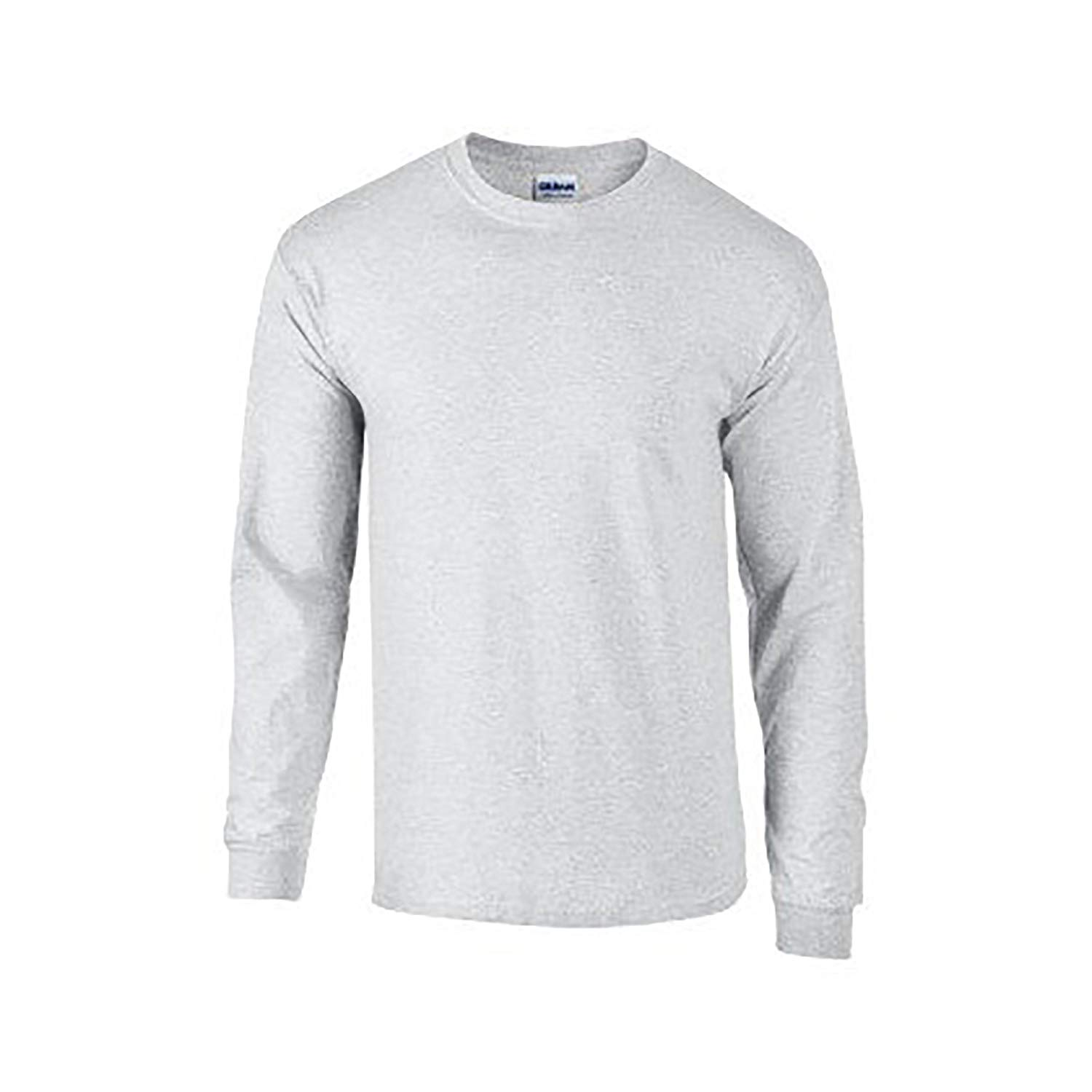 Long sleeve T-shirt amazon.com: gildan mens plain crew neck ultra cotton long sleeve t-shirt:  clothing CQOVBEJ