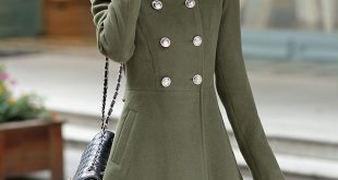 Long Winter Women's Jackets fashion-women-winter-korean-long-coat-jacket-windbreaker- KEBPCFZ