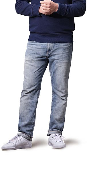 Loose Fit Jeans for Men athletic athletic IAEVANR