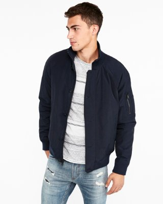 Mens Bomber Jackets express view · nylon bomber jacket WLMTYNF