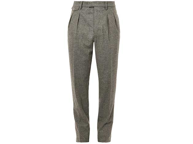 Mens Pleated Trousers christophe lemaire IWUBECI