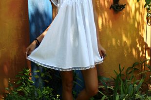 Nightgown babydoll white cotton baby doll nightgown shabby chic full swing lace cap sleeve  summer lingerie sleepwear LLCKWCE