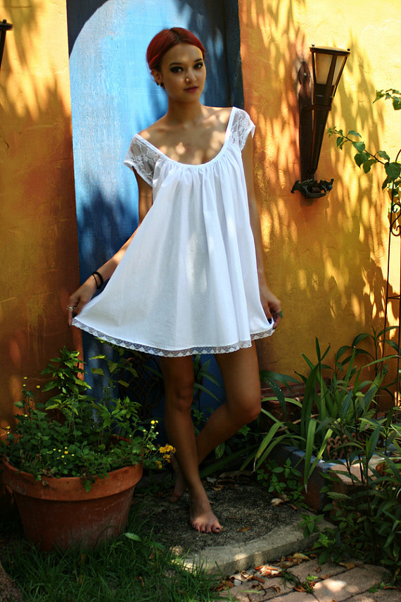 Nightgown babydoll – A wide selection of materials and fits