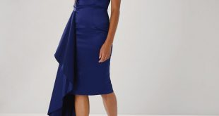 Outfit for wedding guests blissy bandeau shift dress AWDRSHW