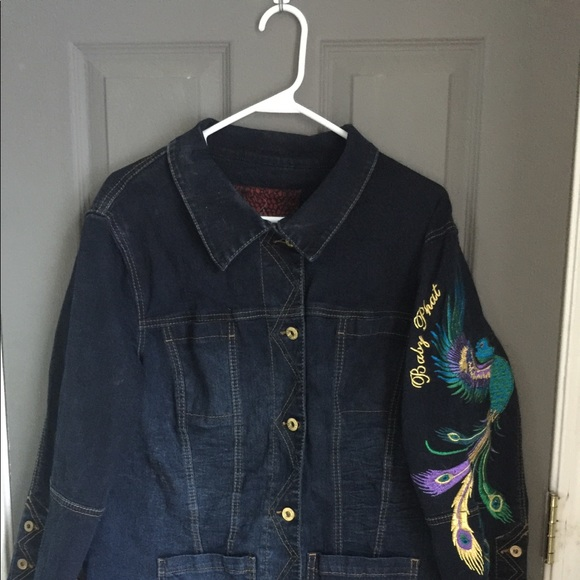 Peacock Jackets baby phat peacock jacket NVNVPPS