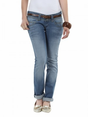 PEPE JEANS FOR WOMEN pepe jeans women blue pixie slim fit jeans OVDLWXX