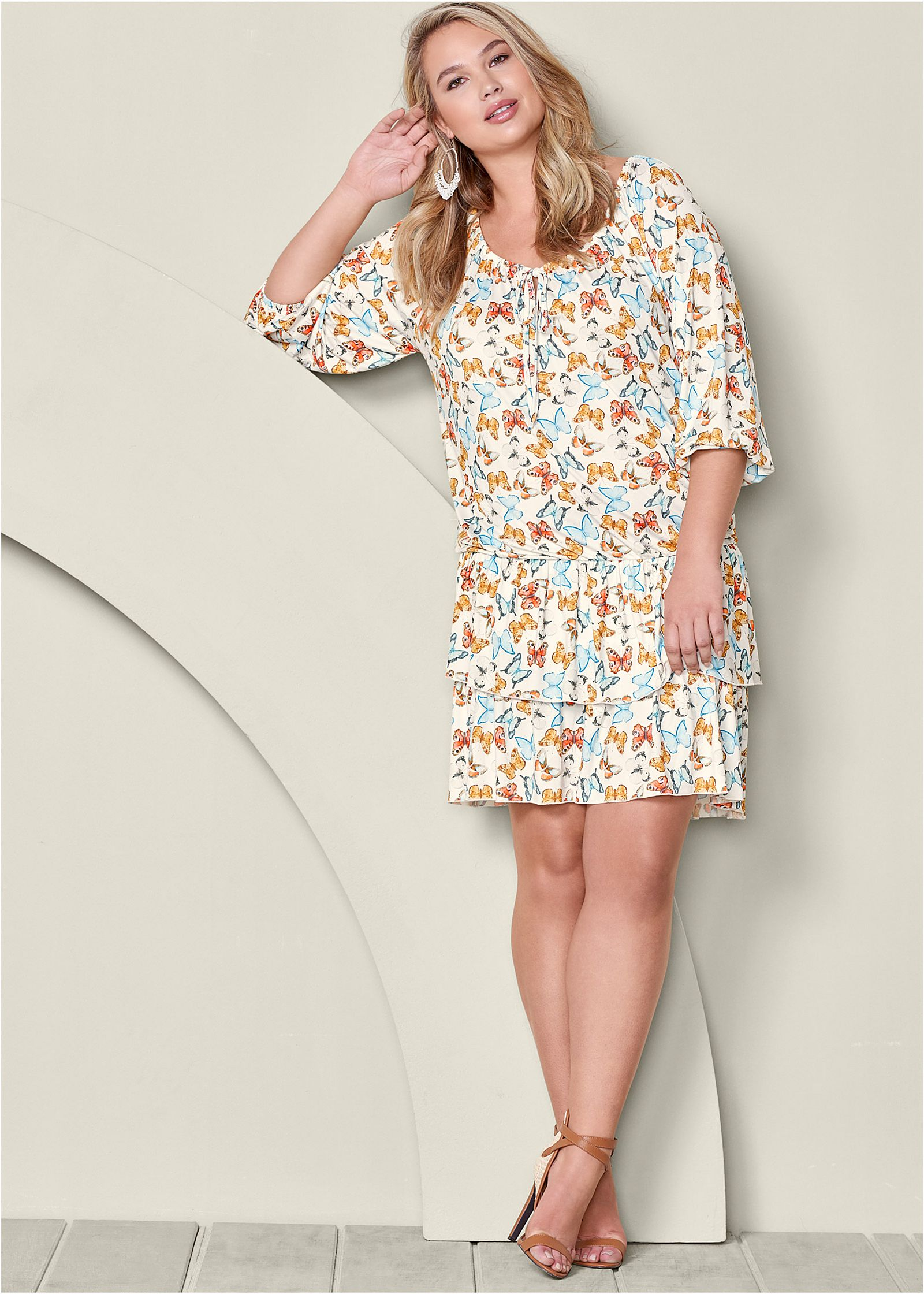 PLUS SIZE CASUAL DRESSES for big bust size