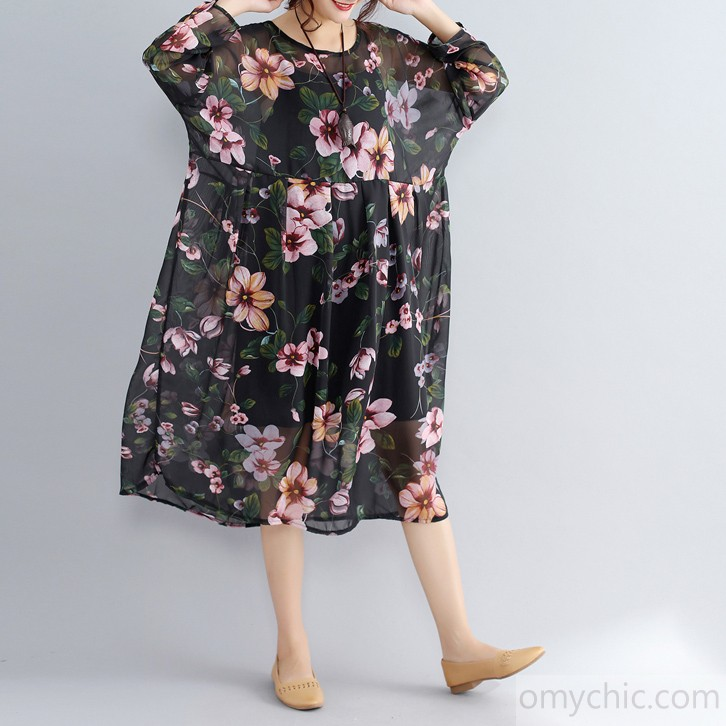 PLUS SIZE CASUAL DRESSES ... plus size casual dress casual long sleeve two pieces dress · enlarge GTYQEHH