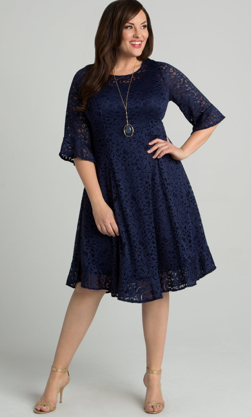 Plus Size Dresses – figure-flattering cuts and sophisticated details