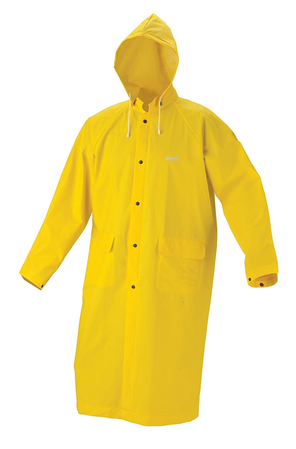 Raincoats amazon.com : coleman industrial 30mm pvc raincoat, yellow, large : camping  and hiking YOYBZWA