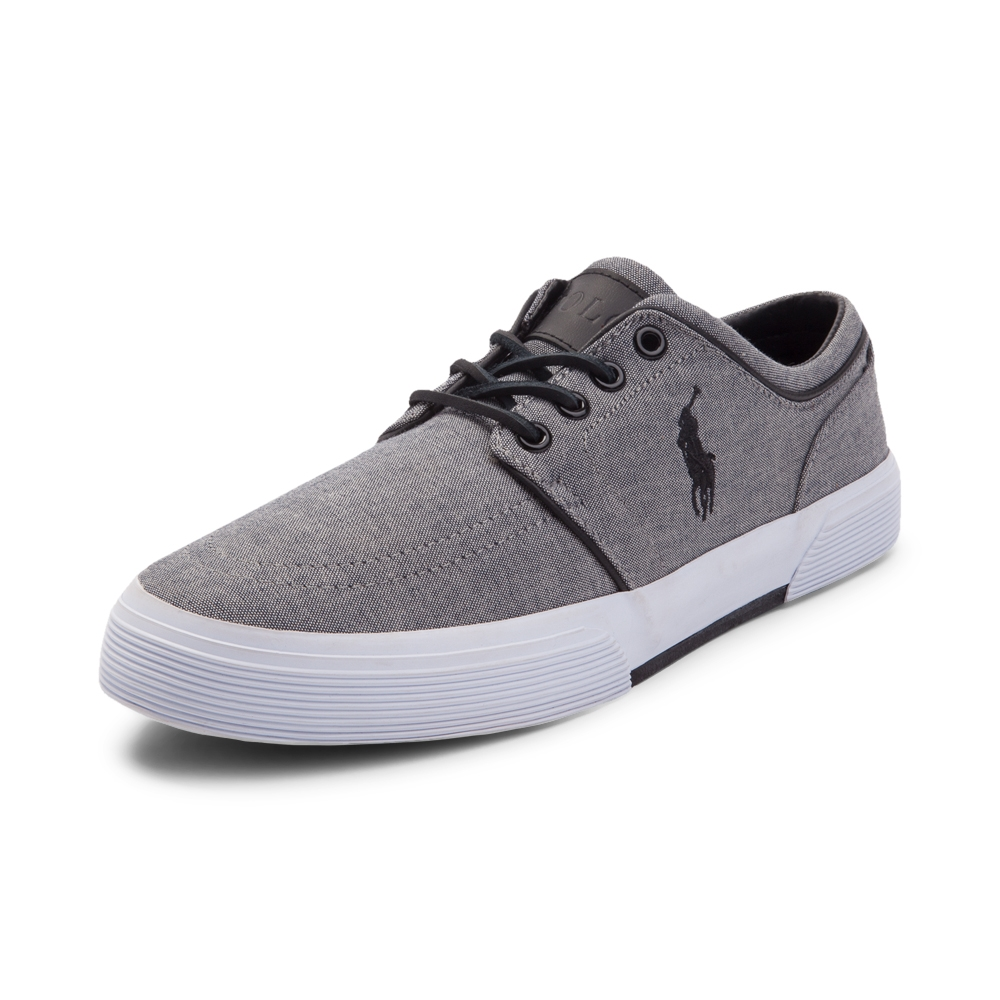 RALPH LAUREN SHOES alternate view: mens faxon casual shoe by polo ralph lauren - gray ... HBBVDPJ