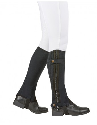 Riding boots equi-stretch half chaps childs RLDBFQS