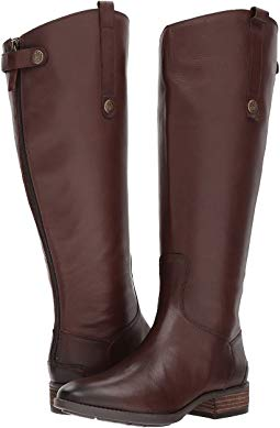 Riding boots penny 2 wide calf leather riding boot YSEVWCM