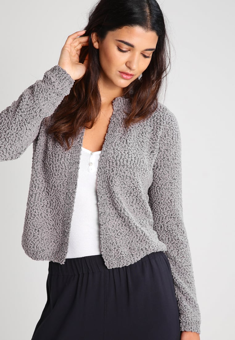 s.Oliver Cardigans q/s designed by cardigan - medium grey melange women clothing jumpers u0026  cardigans mottled HQZJYYA