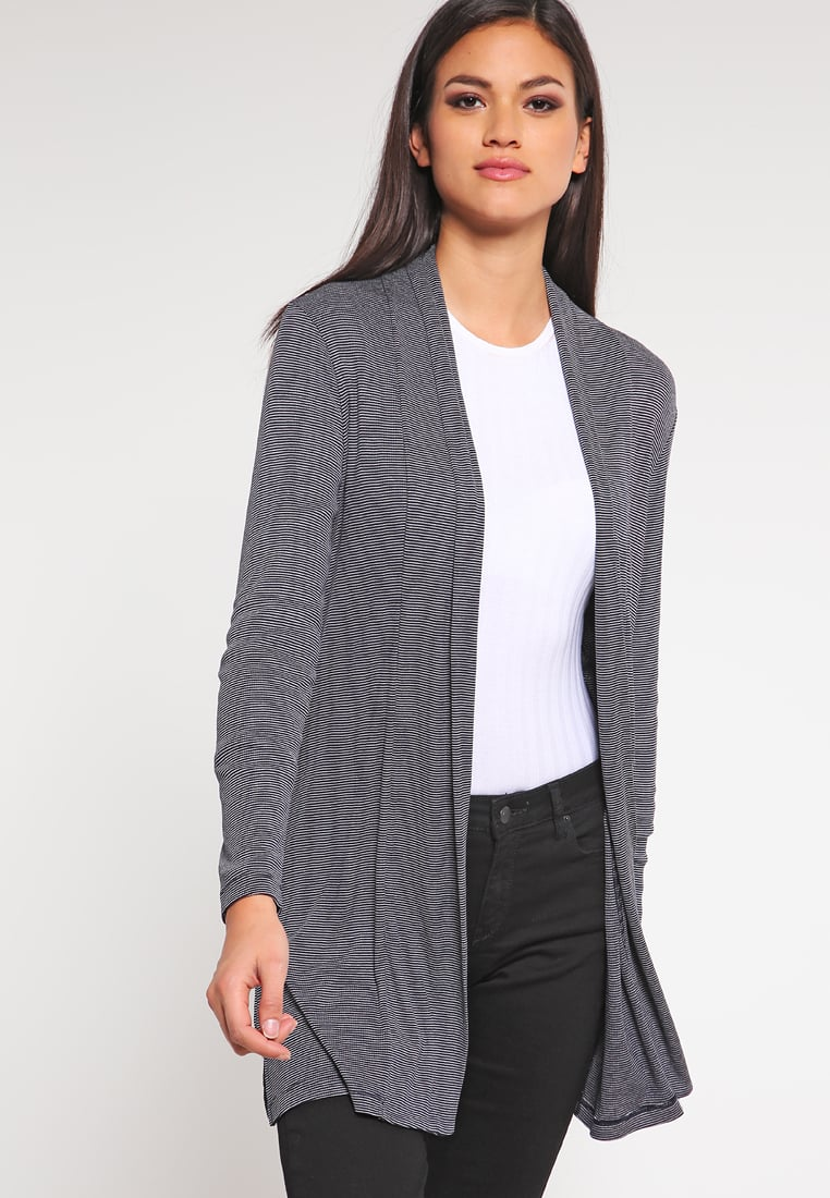s.Oliver Cardigans s.oliver cardigan - navy stripes women sale clothing jumpers u0026 cardigans  dark blue IPPFJEL