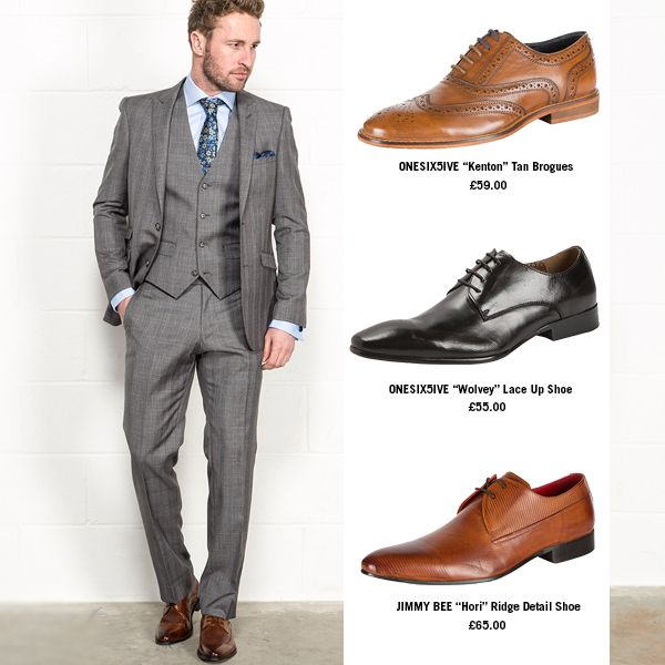 shoes to wear suit grey suit brown shoes - google search UVLTMTS