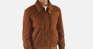 Suede Jackets mens tomchi tan suede leather jacket 1 JCTRZMC