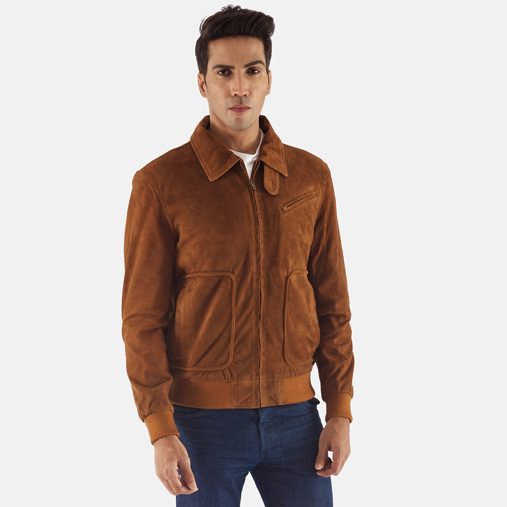 Suede Jackets –  smooth leather version