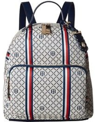 TOMMY HILFIGER BAGS tommy hilfiger - julia dome backpack (navy/multi) backpack bags GIPCVXH