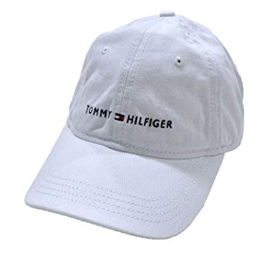 Tommy Hilfiger Hats tommy hilfiger embroidered baseball cap hat (white tommy hilfiger) JDTFAYA