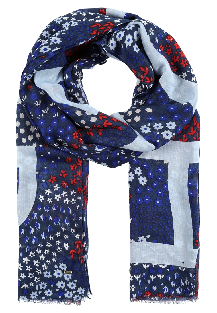 Tommy Hilfiger Scarves tommy hilfiger scarf - blue women accessories scarves u0026 shawls authorized  site,tommy hilfiger outlet online QIEPGOU
