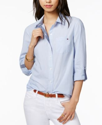 TOMMY HILFIGER SHIRTS FOR WOMEN – Relaxed looks for modern women