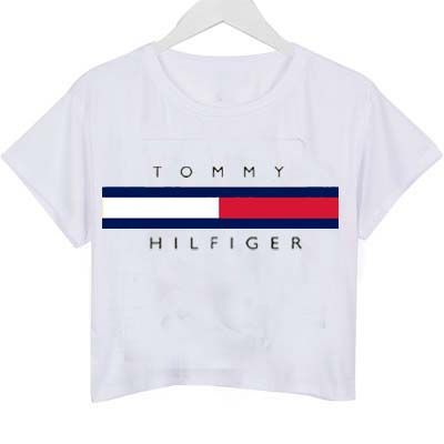 TOMMY HILFIGER SHIRTS FOR WOMEN tommy hilfiger logo shirt graphic print tee for women EYZTFKY
