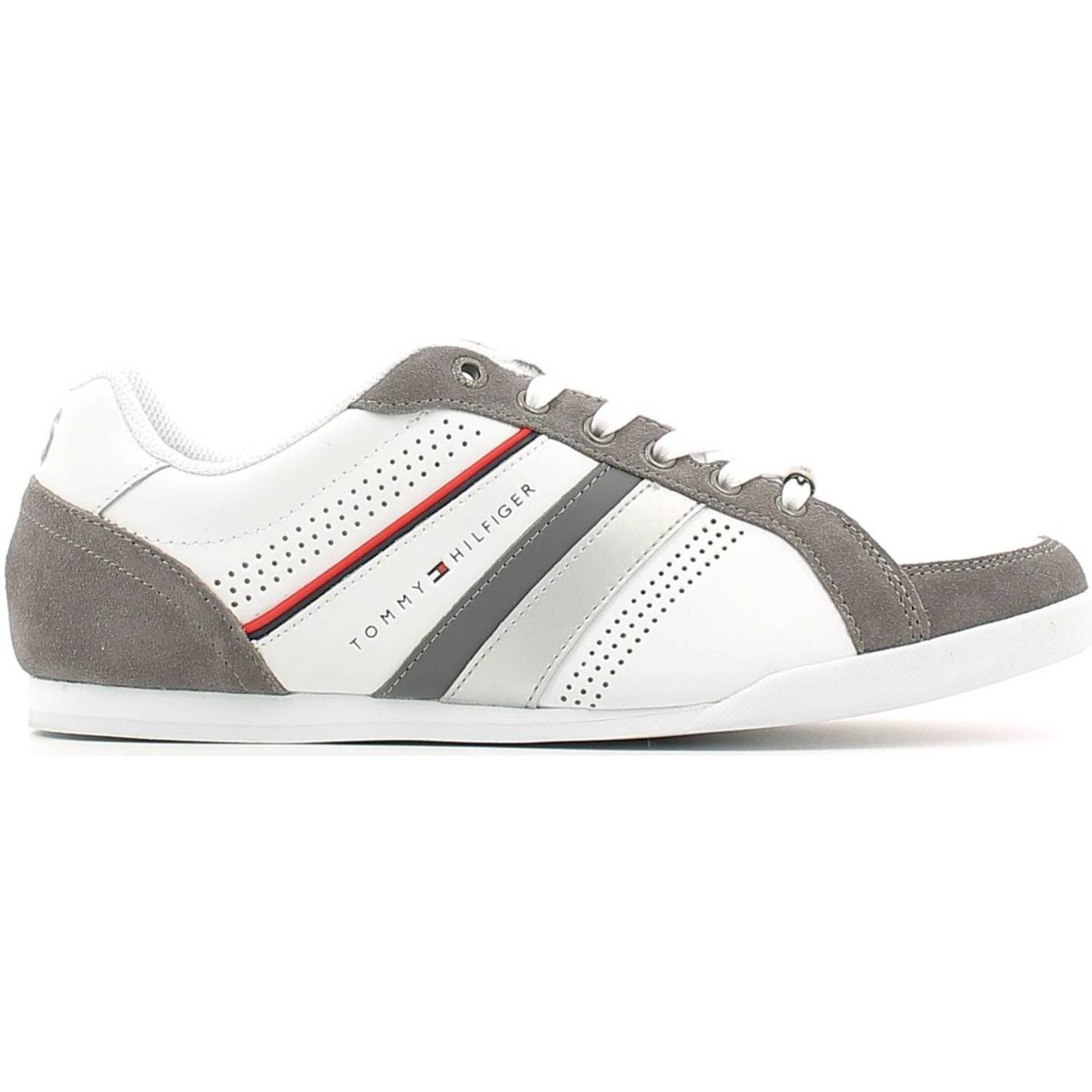 TOMMY HILFIGER SNEAKERS FOR MEN men trainers tommy hilfiger fm56821104 sneakers man bianco,tommy hilfiger  sale,tommy hilfiger on sale,coupon codes VIEPWLG