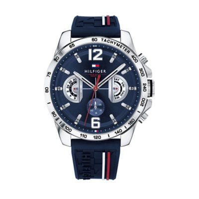 Tommy Hilfiger Sport Watches sport watch with silicone strap AFVBWSO
