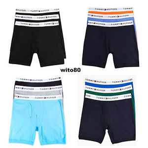Tommy Hilfiger Underwear image is loading tommy-hilfiger-boxer-briefs-mens-underwear-classic-cotton- HMIHQCA