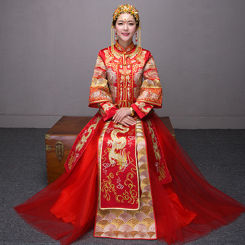 Traditional fashion get quotations · life events 2016 rookie wo summer traditional chinese dress  wedding dress wedding ZDNSIQT