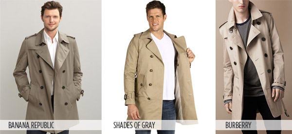 Trench coats for men and women nothing ... XEPPXDQ