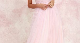 Tulle Dresses sunday kind of love blush pink tulle gown BPBQWCZ