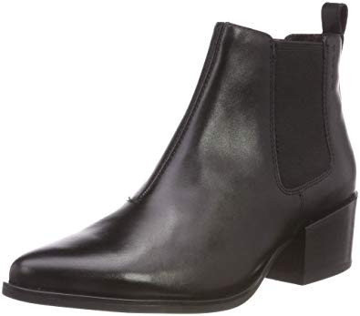Vagabond Shoes vagabond womens marja work leather shoes casual pointed toe ankle boot -  black - 9 WFQMTUY