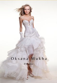 Vokuhila Dresses wedding collection 2012 and earlier florence - designer made wedding and  evening dresses FNOYJIL