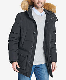 Winter Parkas tommy hilfiger long snorkel coat RXRXWII