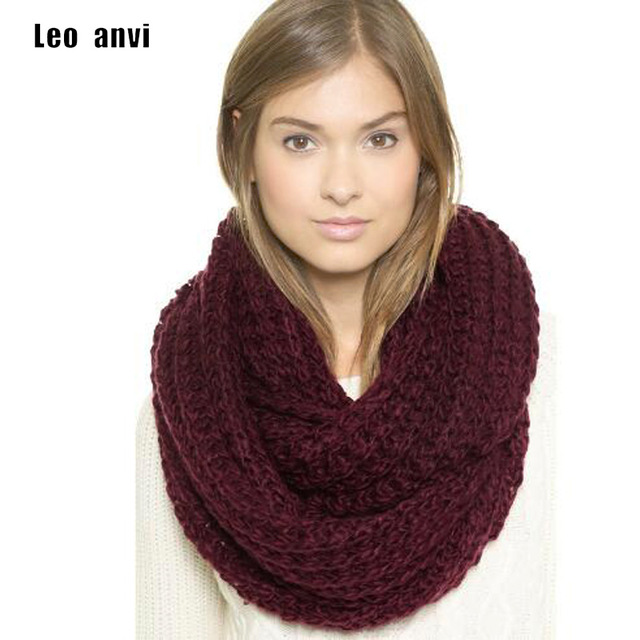 Winter scarves for women leo anvi crochet scarf infinity thick winter scarves women fashion keep  warm colorful EHDVDVA