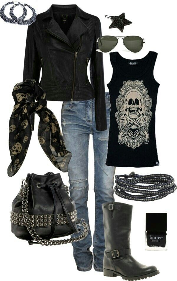 Women's Biker Outfits sexy biker clothing JYZRMKM