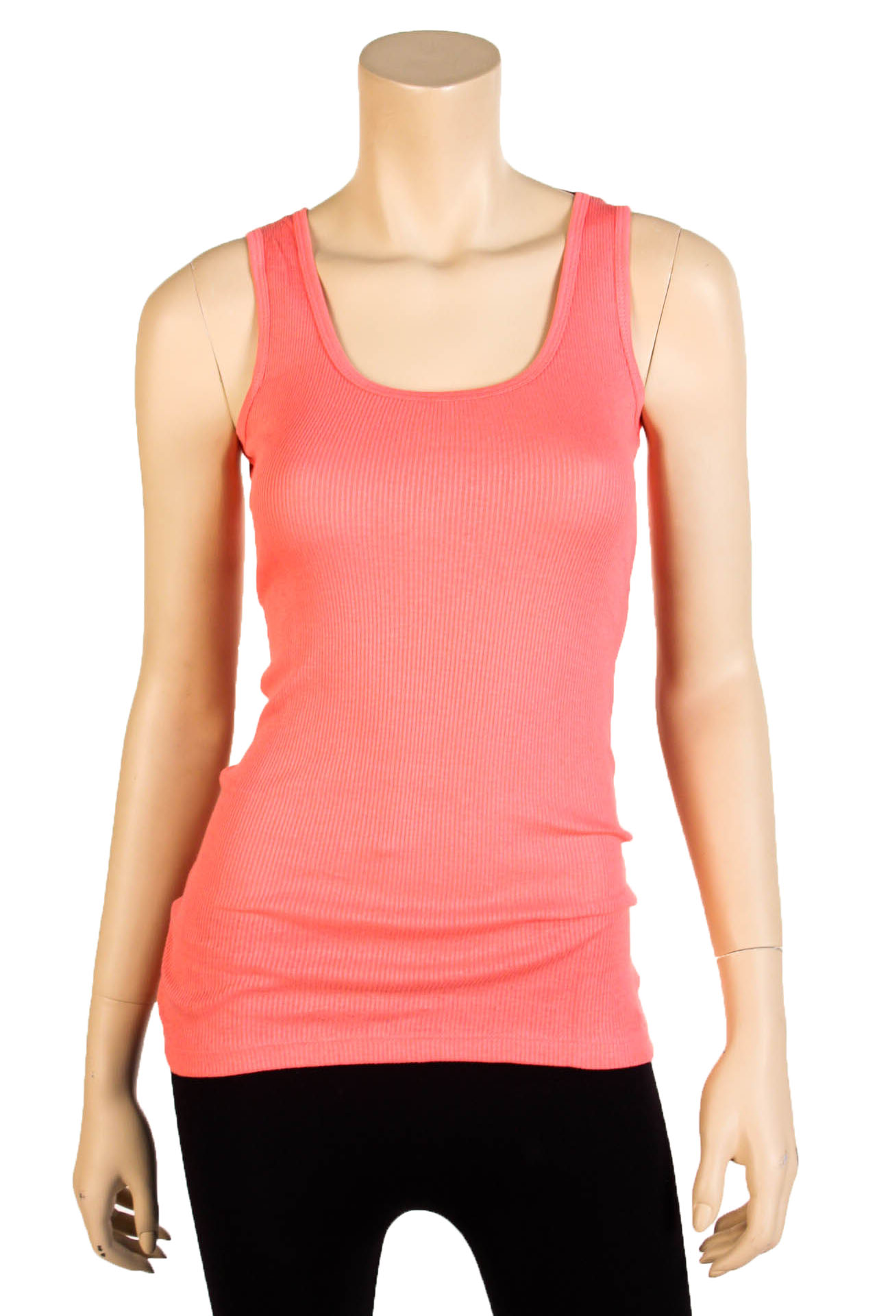 Women's Tank Tops womens-tank-top-100-cotton-heavy-weight-ribbed- MGDUWCH