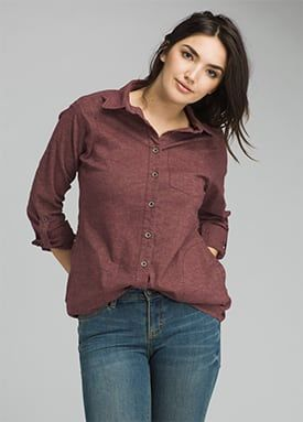 Women Tops wedged wood aster tunic | women u003e tops u003e shirts ... ZYLWAYE