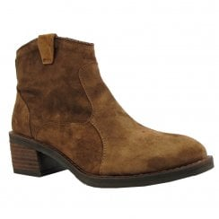 Alpe Womens Ankle Boot 3870 Tan